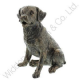 Bronze Effect Labrador Dog Ornament from the Juliana Range. 58413